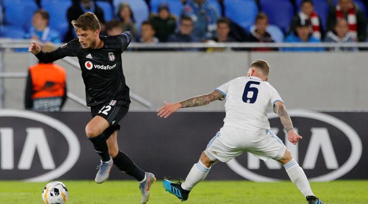 Slovan Bratislava - Beşiktaş maçının özeti burada