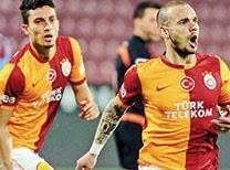 Sneijder böyle coşmuştu (ÖZET)