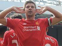 Gerrard'dan harika frikik