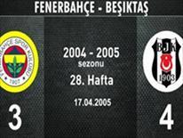 Fenerbahçe-Beşiktaş: 3-4