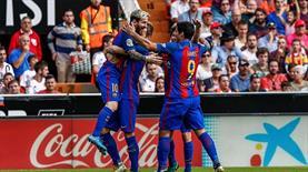 Muhteşem kapışma Barcelona'nın!