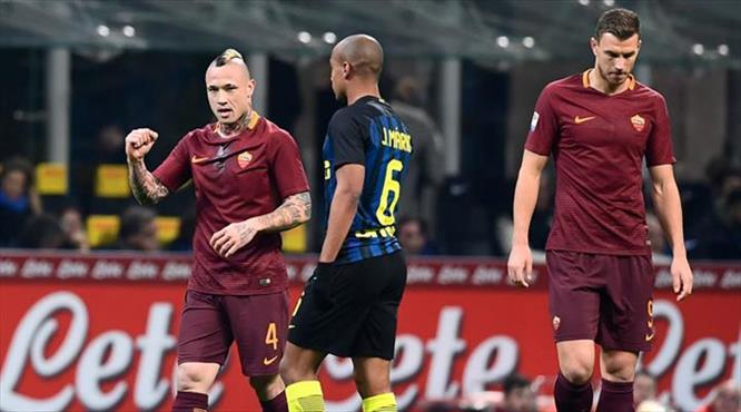 Nainggolan Inter'i yıktı
