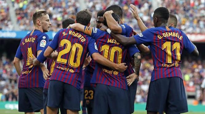 Barça'nın acıması yok: 8-2
