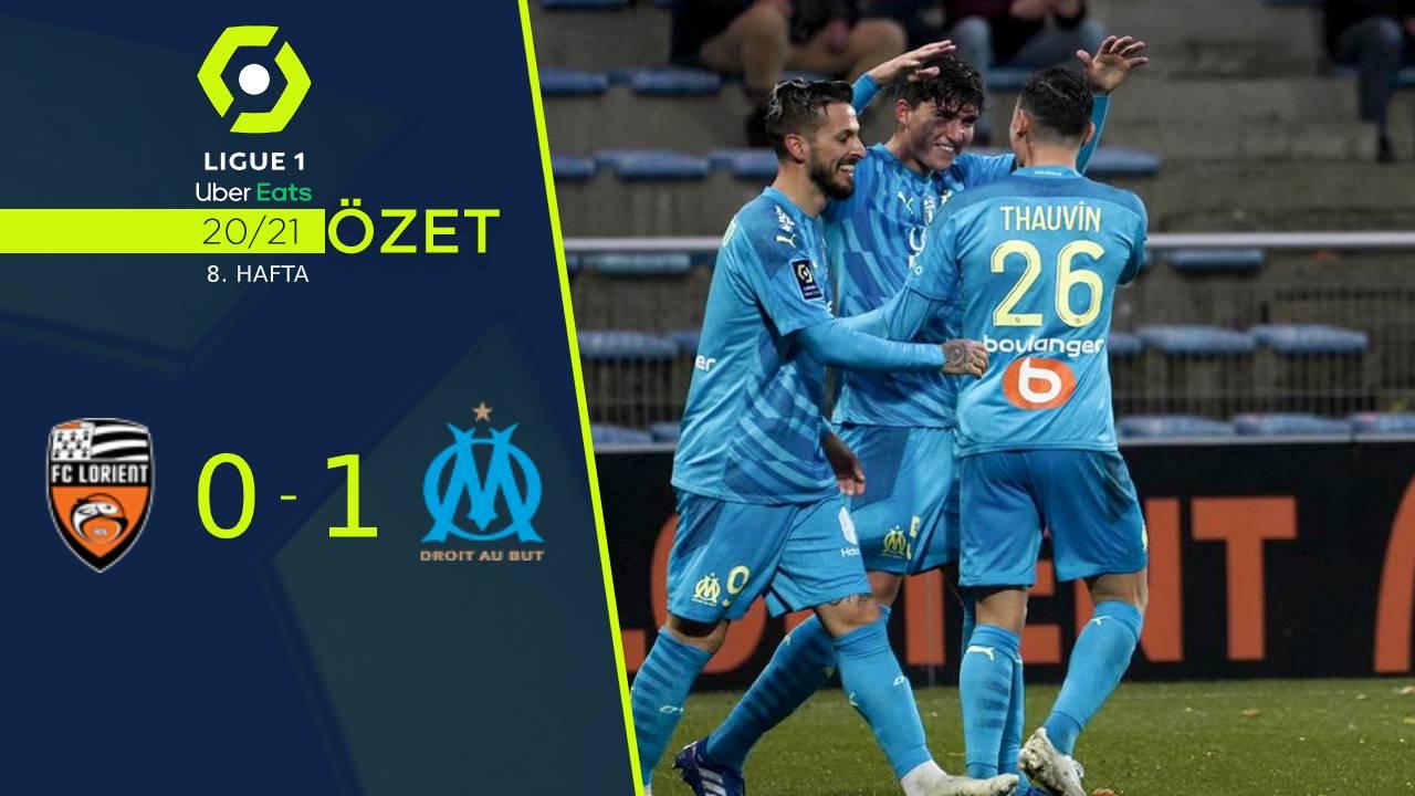 Lorient Marsilya maç özeti