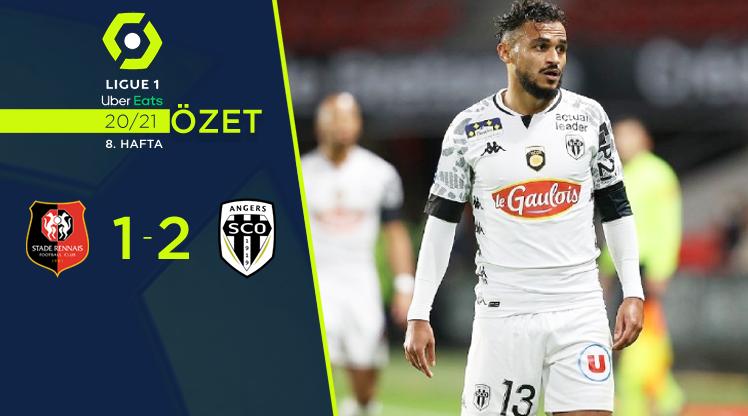 Rennes Angers maç özeti