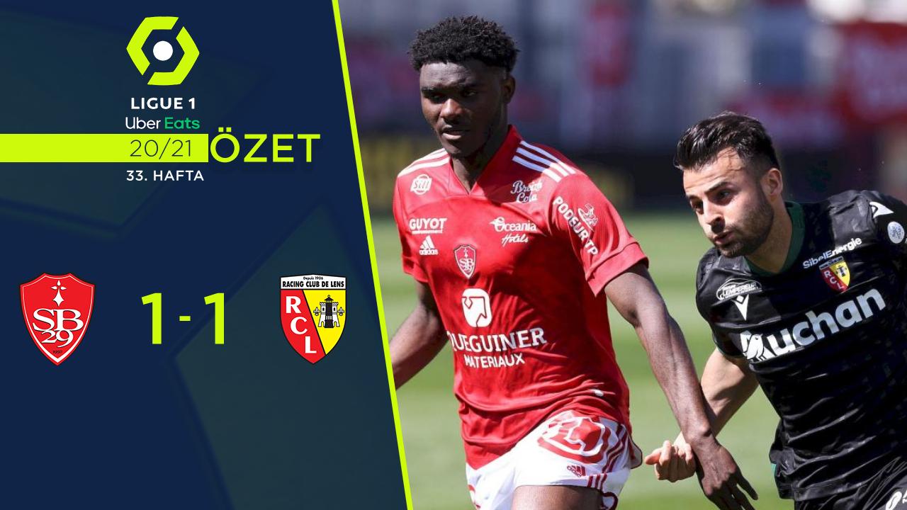 Stade Brest 29 Lens maç özeti