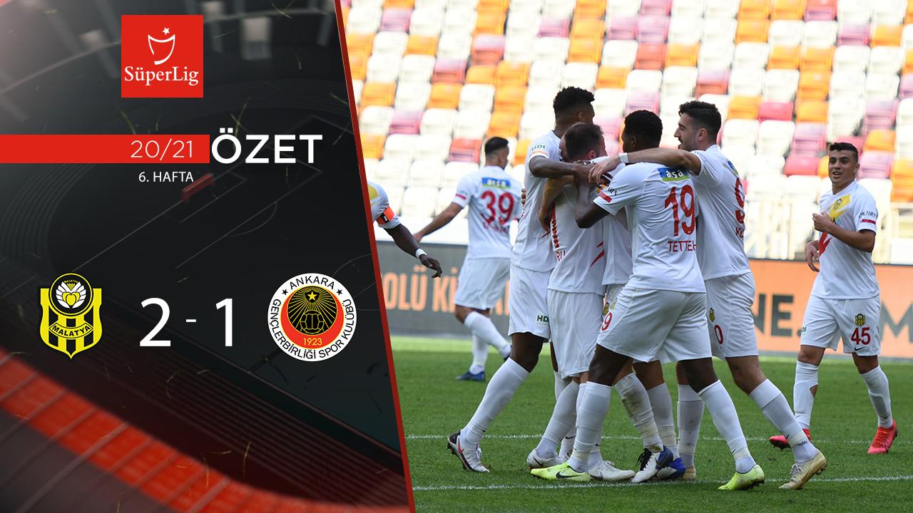 Yeni Malatyaspor Gençlerbirliği maç özeti