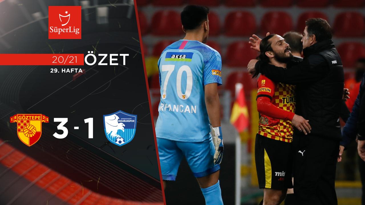 Göztepe BB Erzurumspor maç özeti