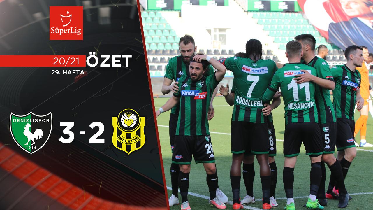 Yukatel Denizlispor Yeni Malatyaspor maç özeti