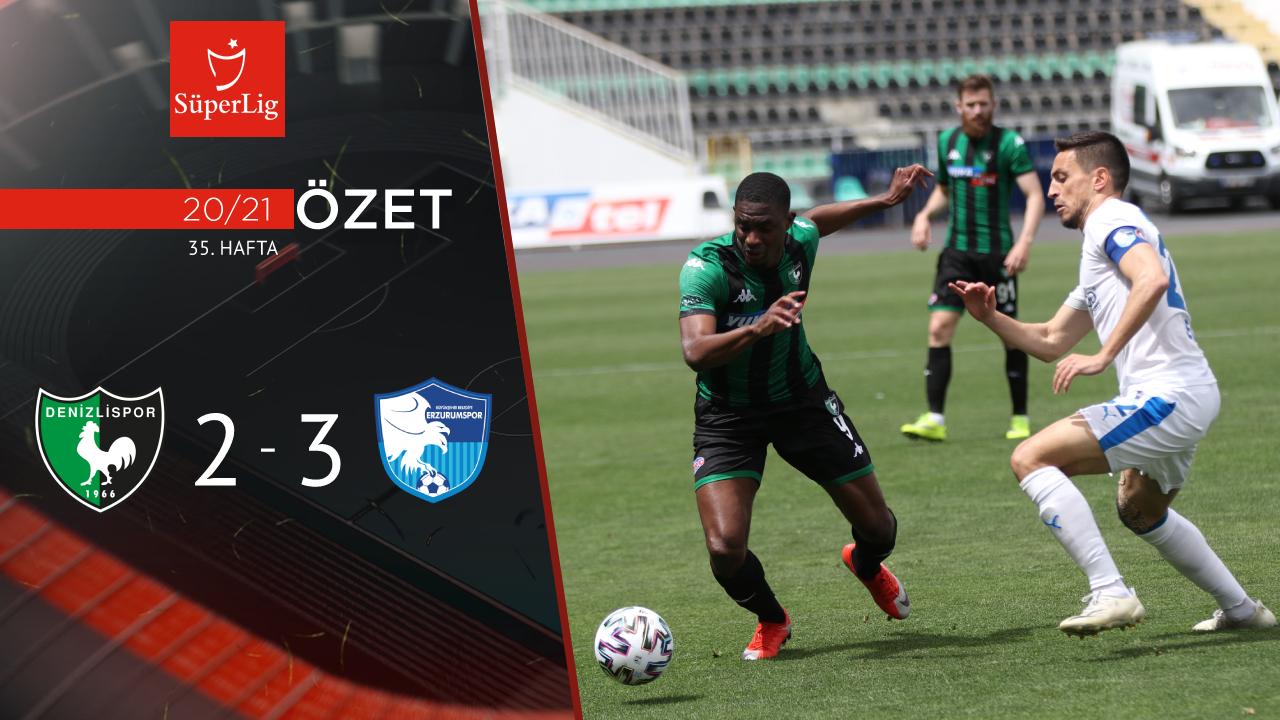 Yukatel Denizlispor BB Erzurumspor maç özeti