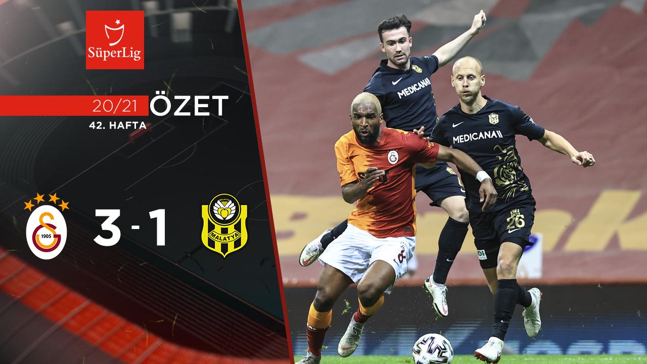 Galatasaray Helenex Yeni Malatyaspor maç özeti