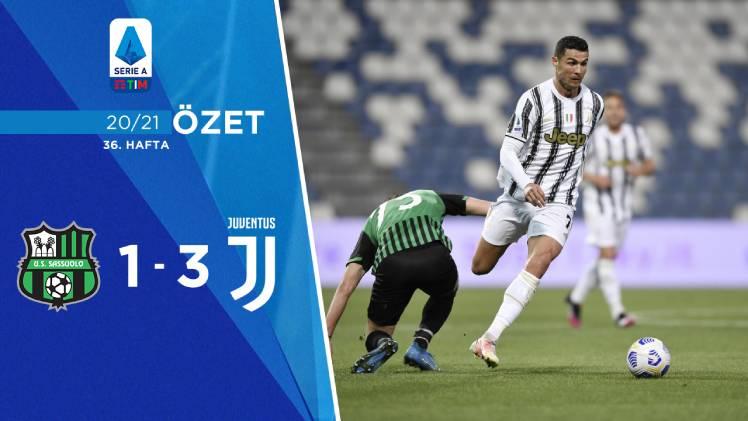 Sassuolo Juventus maç özeti