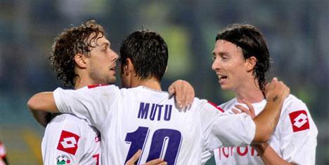 Fiorentina'yı Mutu uçurdu!..