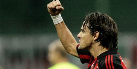 Milan yıldızlarıyla kazandı