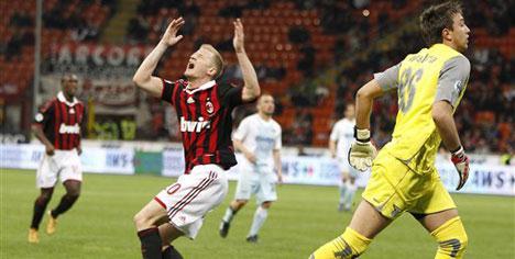 Milan'ın yükseklik korkusu!