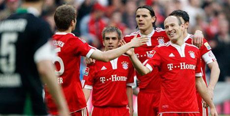 Yok artık Bayern !..
