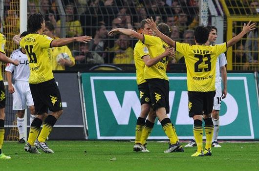 Kurtlar Dortmund'a yem!