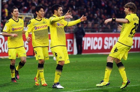İlkay attı, Dortmund farkladı