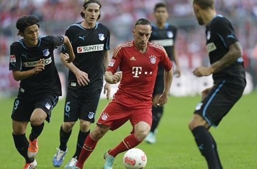 Bayern Ribery'le güzel