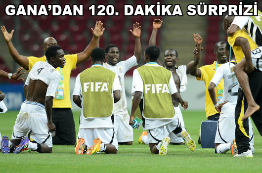 Son bilet Gana'nın