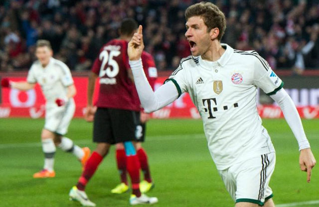 Bayern Tayfun'u üzdü