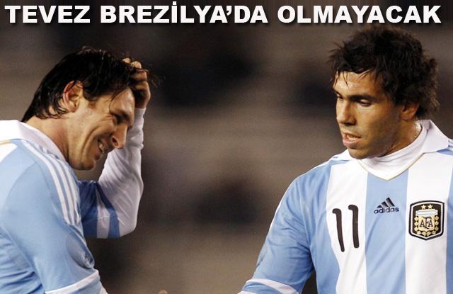 İşte Arjantin'in kadrosu