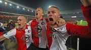 Kuyt'lı Feyenoord Ajax'ı eledi (ÖZET)