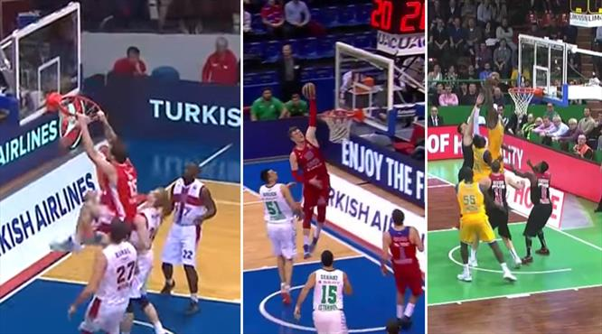 Turkish Airlines Euroleague'de haftaya damga vuran en iyi 10 hareket