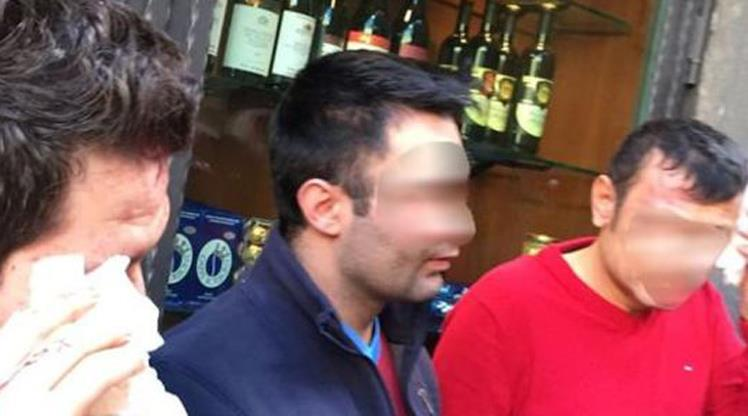 İtalya'da çirkin saldırı