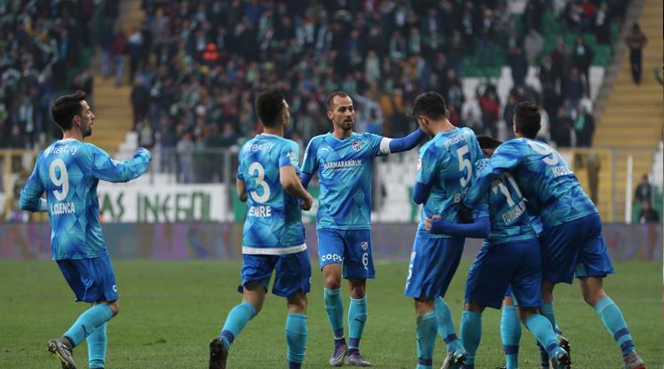 Bursaspor 5'te 5 yaptı
