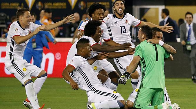 Kolombiya penaltılarla yarı finalde! (ÖZET)