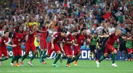 Yarı finale ilk bilet Portekiz'in (ÖZET)