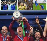 Stres, gözyaşı,coşku ve zafer! İşte Euro 2016'nın o anları!..