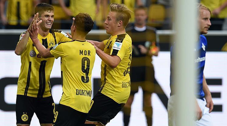 Dortmund coştu bir kere!.. Bu kez Emre de sahnede!..