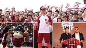 Podolski Japonya'yı salladı!