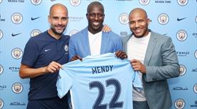 Benjamin Mendy Manchester City'de