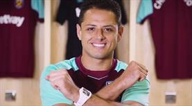 Chicharito West Ham formasını giydi