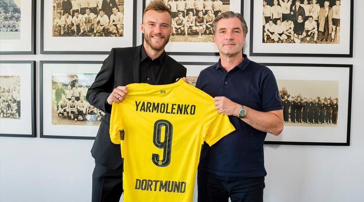 Borussia Dortmund, Yarmolenko'yu transfer etti