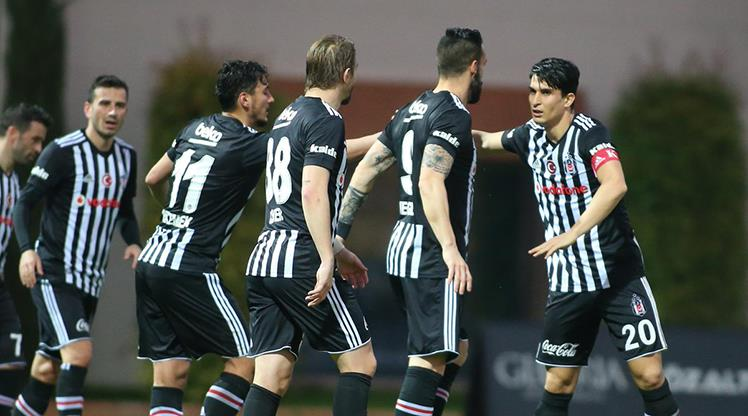 Gol düellosu Beşiktaş'ın
