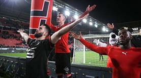 Rennes 1 attı 3 aldı (ÖZET)