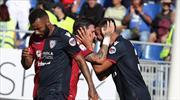 Cagliari 4 hafta sonra güldü