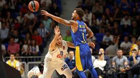 Son düzlüğü Maccabi geçti (ÖZET)