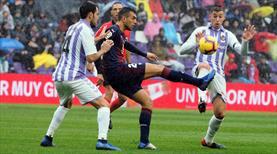 Enesli Valladolid Eibar'ı elinden kaçırdı!