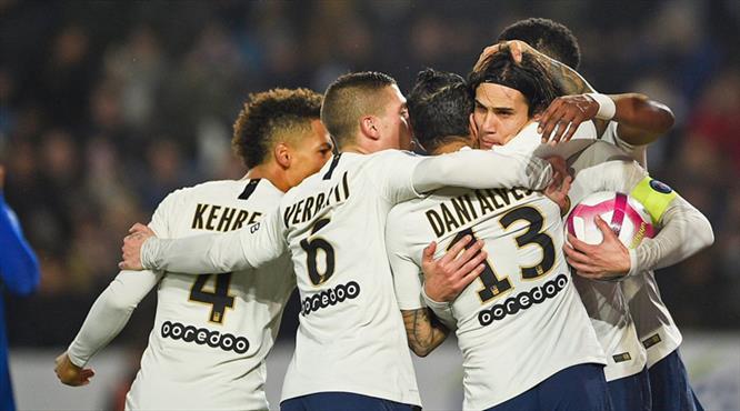 Paris Saint-Germain'e bir haller oldu (ÖZET)