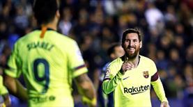 Messi'den resital Barça'dan gol şov: 5-0 (ÖZET)