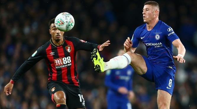 Chelsea'nin tur bileti Hazard'dan (ÖZET)