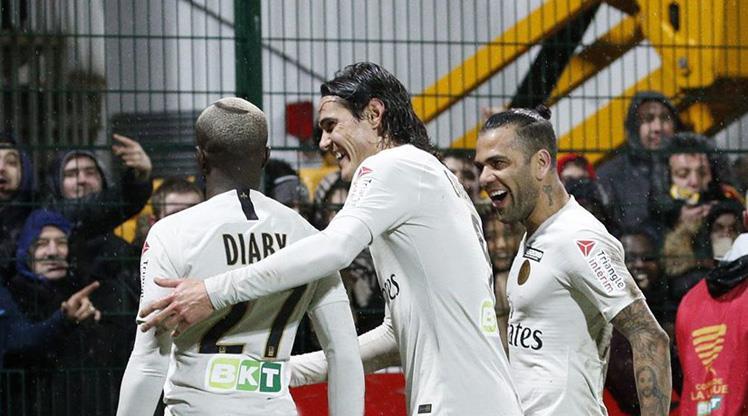PSG'ye tur bileti Moussa Diaby'den