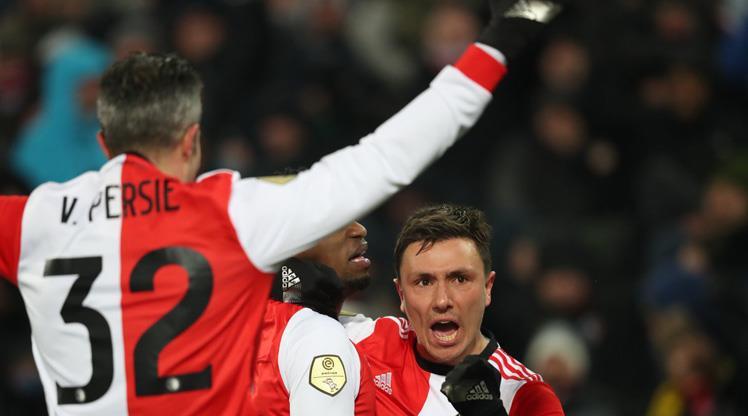 RvP '300' dedi, Feyenoord finale yükseldi