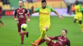 Nantes'tan sürpriz kayıp