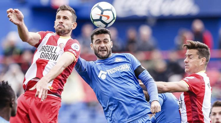 Getafe kaçtı, Girona yakaladı